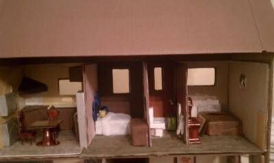 First Floor for Doll House Play Therapy Technique