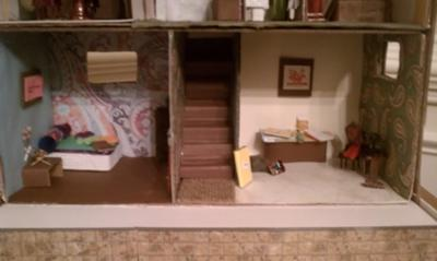 Basement for Doll House Play Therapy Activity