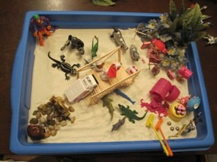 My First Sand Tray Therapy Experience--Student #2