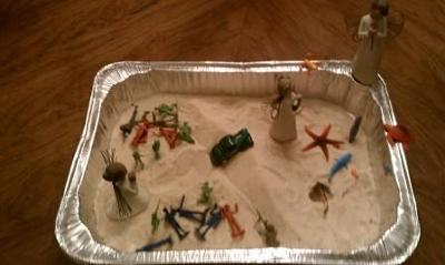 Sand Tray Therapy Experience: My Soul Looks Back and Wonders...
