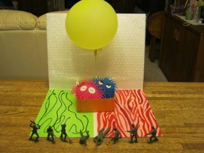 Play Therapy Technique / Play Therapy Activity for Play Therapist to use with Clients: The Balloon Trip