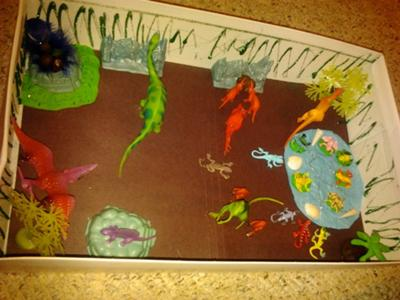 Play therapy family activity to make: Jungle World