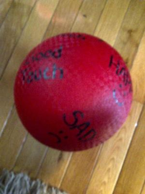 Play therapy game idea:and activity: The Ball Game