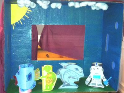 Play Therapy Bullying Prevention Puppets and Puppet Theater