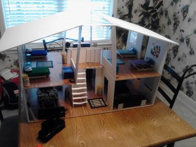 Play Therapy Doll House Final Exam Project - My Childhood Home