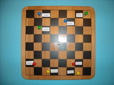 Play therapy game example: Feelings Chess Game 4