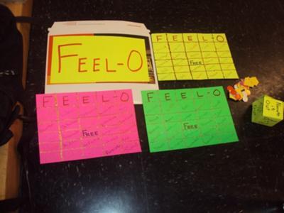 Play Therapy Game : Bingo/FEEL-O Game