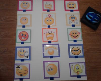 Play Therapy Game - Emotion Toss Game