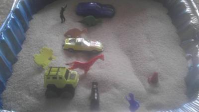 Play Therapy Sand Tray Therapy: Explore my journey in the sand tray.