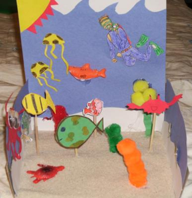 Play Therapy Technique: Mystery Counseling Session Under The Sea Example 3