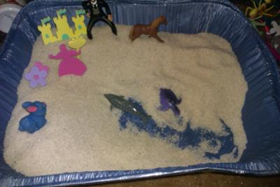 Play Therapy- Sand Tray Therapy Experience from a School Counselor