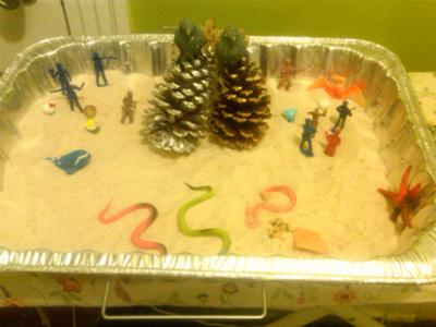 sand tray therapy example #23