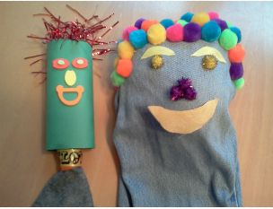 Even more play therapy puppets made from scratch!