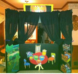 Play Therapy Puppet Theater Example 1