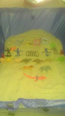 Sand Tray Therapy Class Summer-Maslow's Hierarchy Self Actualization Journey-Student #11 : Example 1