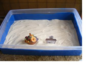 Sand Tray Therapy Activity: Maslow's Hierarchy Sand Tray Therapy Photo # 1 or 4