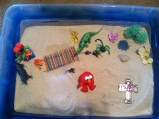 Sand Tray Therapy Student Activity for all Therapist to Try