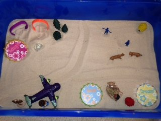 Sand Tray Therapy Class Personality Type Sand Tray