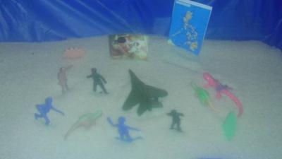 Sand Tray Therapy Final Exam by Student #10: Picture One