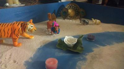 Sand Tray Therapy Miniatures: Hindu Symbols of India #2
