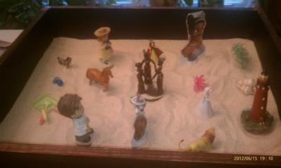 Sand Tray Therapy - My Extended Sand Tray #2