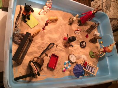 Sand Tray Therapy Real Colors Personality Tray