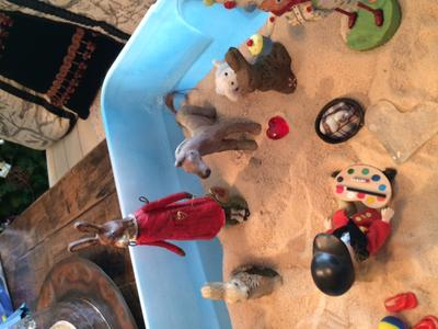 Sand Tray Therapy Real Colors Personality Tray #2