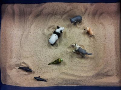 Sand Tray Therapy: Translation Assignment - J.