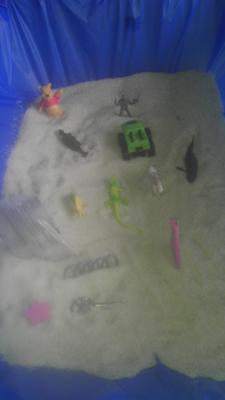 Sandtray Therapy Class-Sandtray with Bridge Journey-Student #11