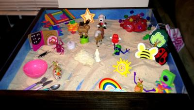 Sandtray Therapy #1 - Extended Tray Reflection - #2