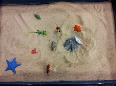 Sandtray Therapy Class: Client Interpretation #1, Student #1