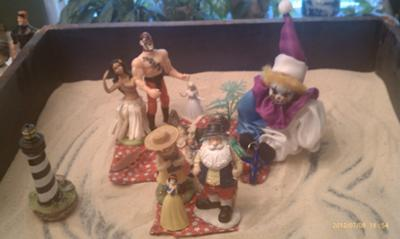 Fabric of My Being: Sandtray Therapy Class Final Exam -- Sandtray Theory: Expanding The Self