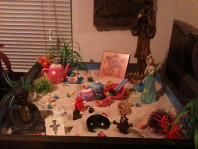 Caring Cup Tray: Sand Tray Therapy