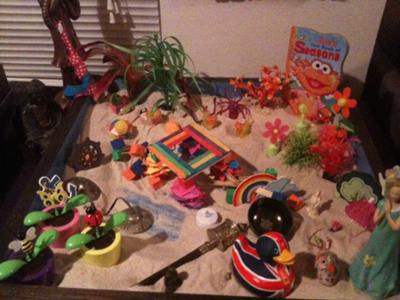 Change Tray: Sand Tray Therapy
