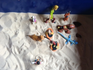 Sandtray Therapy Final: Family Story Lesson plan, Student #1 , Picture Three