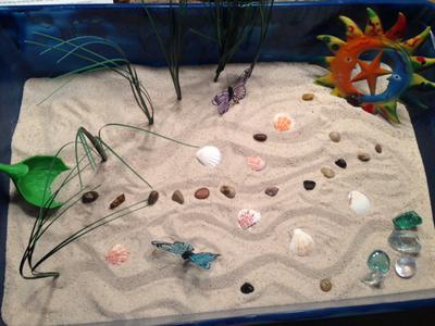 Zen Garden Sand Tray Therapy Garden Tray